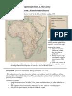 Imperialism in Africa DBQ