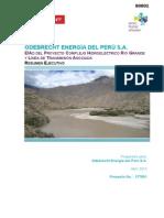 Odebreacht – Proyecto Hidroenergetico Río Grande y Línea de Transmisión Asociada – Resumen Ejecutivo (Español)
