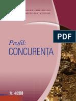 Profil concurenta