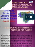 01. Cálculo de Secciones de Concreto Armado en Edificaciones (Ing. Juan Alfaro Rodriguez