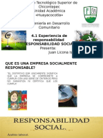 Empresas Socialmente responsables con el medio ambiente
