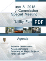 St. Augustine City Commission Utility Fund Presenation