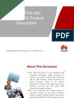 01-OptiX RTN 900 V100R002 Product Description-20110518-A