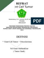 151317766 Giant Cell Tumor Ppt