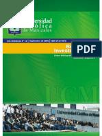 revista de investigaciones Universidad Católica de Manizales