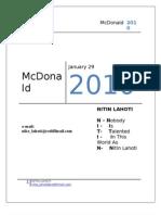 McDonald 201 0