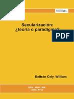 Secularización teoria o paradigma