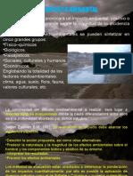Presentaciones Medio Ambiente