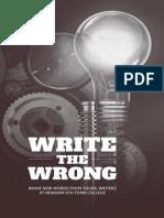 Write the Wrong