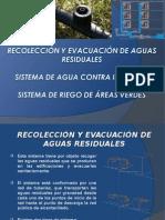 Recolección y Evacuación de Aguas Residuales
