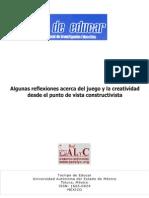 Algunas Reflexiones Acerca Del Juego y l - Aquino, Francisco(Author)