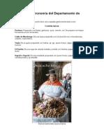 Genuina Gastronomía Del Departamento de Ayacucho