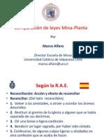 7 - Reconciliacion Leyes Mina Planta - M. Alfaro - UCV