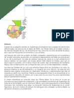 Datos de Los Paises de Centroamerica