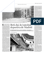 Beti-Jai, la 'catedral' deportiva de Madrid (DEIA - 07/06/2015)