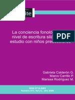 LA Conciencia Fonologica.