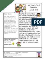 trego classroom newsletter