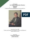 Howard J. Foster Physics & Mathematics Education Symposium
