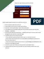 Belajar Membuat Form Login Sederhana Pada Microsoft Excel