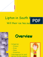 South Korea Lipton