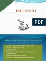 Presupuesto Diapositivas i Unidad