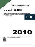 Multinational Companies in UAE - 2010