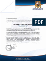 Diplomado Gestion Publica on Line - 24 Julio 2015