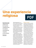 Una Experiencia Religiosa