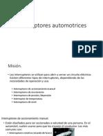 1.3.2 Interruptores Automotrices