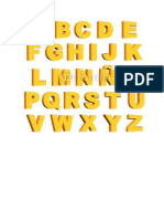 abecedario 3d
