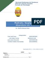 INFORME Maltrato, Negligencia y Abandono.docx