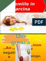 Anemiile in Sarcina