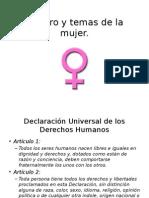 Genero y Temas de La Mujer