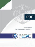 Filtro de Conteúdo - HSC Internet Secure Suite - Guia de Instalação - V4.1