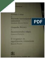 Ingrid Šafranek -Stendal, Flober i Prust
