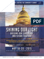 KCCD 8th National Lighting the Community Summit Booklet