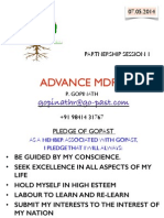 Advance MDRT 1