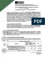 CONTRATO N° 006-2014 MENSAJERIA
