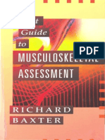 RICHARD f. BAXTER-Pocket Guide to Musculoskeletal Assessment