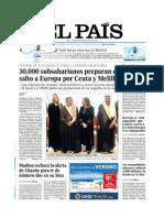 Portadas publicadas e información no publicada por los medios españoles