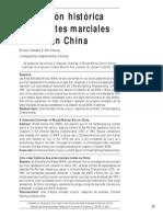 Acevedo, Cheung - 2011 - Una Visión Histórica de Las Artes Marciales Mixtas en China