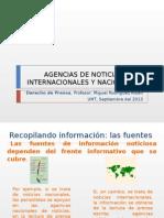 Clase6-Derecho de Prensa-Agencia de Noticias