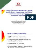 Como Os Websites Parlamentares Podem Contribuir Para