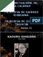 Filosofia de Kaouru Ishikahua Gauro & Genishi Tagushi