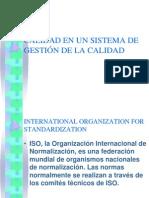 Sistema de Gestión de La Calidad - 1c2015