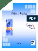 IFRS en la practica