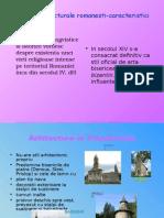 Stiluri Arhitecturale Romanesti-caracteristici