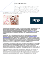 Los Mejores Tratamientos Faciales Pre