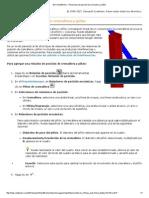 2011 SolidWorks - Relaciones de Posición de Cremallera y Piñón