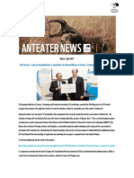 AntEater March Apr 2015